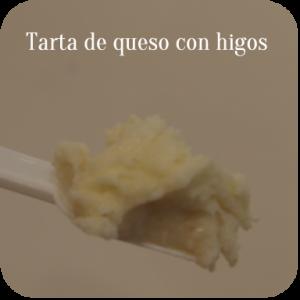 Tarta de queso con higos