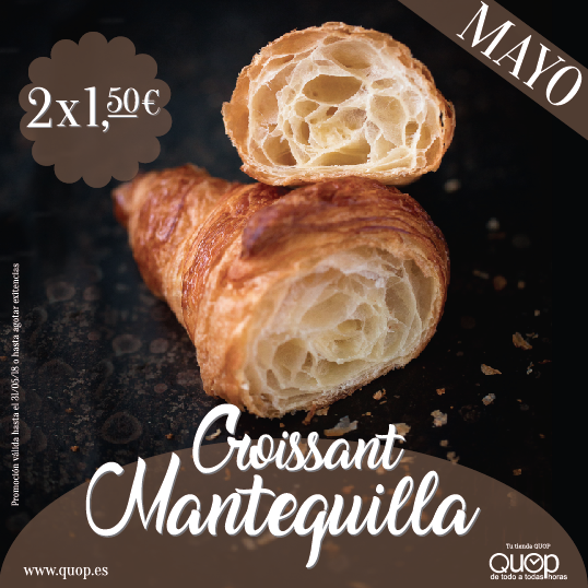 Croissant Mantequill